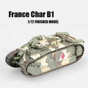 France Char B1,May 1940,3nd Company 1/72 tank easy model finished non diecast