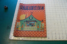 Mother Goose saalfield 1932, Fern Bisel Peat illustrator, name written in cover