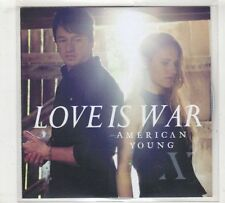 (GX585) Love Is War, American Young - DJ CD