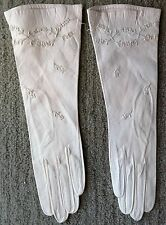 NWT Most Exquisite French Embroidered Kidskin Evening Gloves 6 1/2