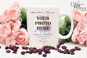 PERSONALISED AUNTIES LIKE YOU AUNTIE PHOTO COFFEE MUG TEA CUP BIRTHDAY GIFT