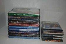 Andre Rieu PBS 10 DVD's 5 CD's DVD CD Lot