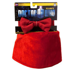 DOCTOR WHO - Eleventh Doctor Fez & Bow Tie Set (Elope) #NEW