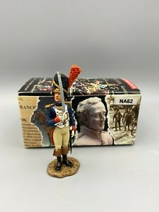 King & Country NA062 Officer Saluting Napoleonic Retired Rare