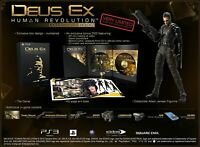 Deus Ex: Human Revolution Sony Ps3/PlayStation 3 Collectors Edition New & Boxed+