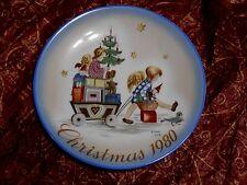 "Sister Berta Hummel Collectable Plate ""Parade into Toyland"" Christmas Schmid"