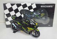 """MINICHAMPS CAL CRUTCHLOW 1/12 YAMAHA YZR-M1 """"MONSTER"""" TECH3 MOTOGP 2013 NEW"""