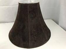 """10"""" Brown Velvet Lamp Shade"""