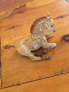 Breyer Horse Laying Reclined Brown Speckle Speckled