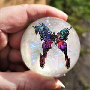 Bayonetta butterfly decorative paperweight bayonetta game fans unique gift OOAK