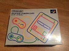 CONSOLE NINTENDO SUPER FAMICOM NTSC-J JAPAN VERSION BOXED COMPLETE
