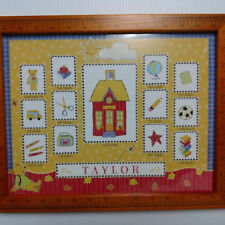 """Picture Frame Grade School Years 12 Photos 15 3/4"""" x 12 3/4"""""""