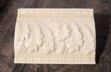Trenton Ptw Antique Tile Acanthus 1890's Edwardian Victorian majolica glaze