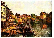 Bamberg , Klein-Venedig , Ansichtskarte , ungelaufen
