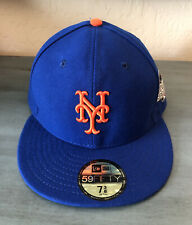 New York Mets New Era 59Fifty 2015 World Series Hat 7 3/8 Made In The USA New!