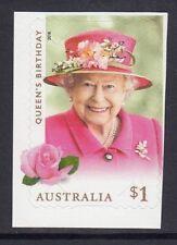 AUSTRALIA 2018 - QUEEN'S BIRTHDAY $1 single P&S Self Adhesive  MNH - Royalty