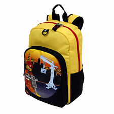 LEGO City Contruction Heritage Classic Large Backpack School Bag, Yellow