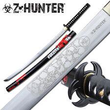 Z-Hunter Skull Zombie Biohazard Red Blood Splatter #ZB-059BR