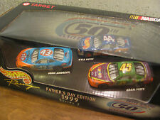 1999 Father's Day Edition - 3 1:64 Hw Cars - 2 Pettys & 1 Andretti