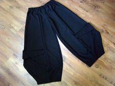 Myo Layered Look Mega-Ballonhose Big-Taschen Black Size 56,58, 60 / XXXXL/XXXXXL