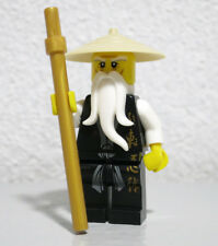 Sensei Wu Black 2507 2521 2255 The Golden Weapons Ninjago LEGO Minifigure Figure