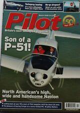 Pilot Magazine 2018 March Piper Meridian,Ryan Navion Super 260