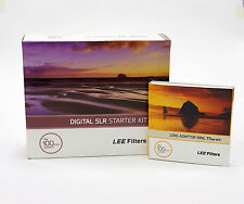 Lee Filters 100 DSLR Kit+Lee 77mm Wide Adapter Ring.Brand New
