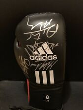 Andre Ward Carl Froch Jermain Taylor Super 6 Signed Boxing Glove JSA COA Auto