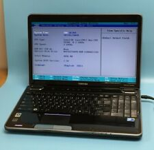 Toshiba Satellite A505-S6960 Intel 2.10GHz 4GB SDRAM Laptop Notebook w/o Battery