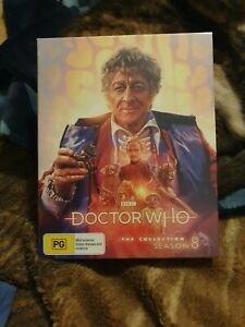 Doctor Who The Collection Season 8 Blu ray Limited Edition