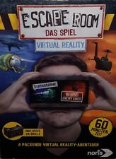 ☆ ESCAPE ROOM - VIRTUAL REALITY ☆ Das Spiel inkl. VR-Brille ☆ Noris ☆ NEU&OVP ☆