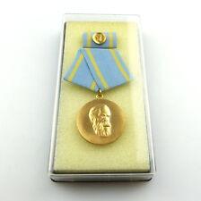 #e4674 Friedrich-Engels-Preis B. Nr. 41 c (ab 1973) I. Klasse, Stufe Gold