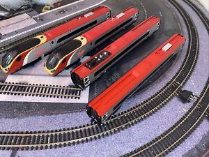 Hornby R1076 Virgin Trains Pendolino 00 Gauge Digital Train Set