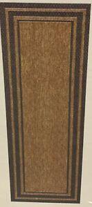 Gertmenian, Brown Jordan Indoor/Outdoor Runner Rug (Choose Color Pattern)