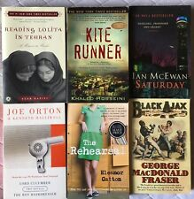 MODERN book bundle collection job lot x 6 Kite Runner Black Ajax Rehearsal