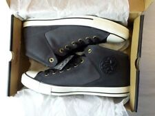 Converse Chuck Taylor All Star Leather High Street Shoes 10 Almost Black New Box