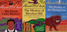 Great Cake Mystery,Meerkat Hill,Missing Lion (pb) Alexander McCall Smith 3 Bks
