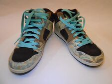 DC Shoes Manteca 2 Mid LE $70 Women Leather Mid Top Skate Sneakers Size 9W
