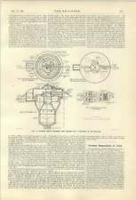 1921 Sewage Gas Power Walshaw For Population 1000