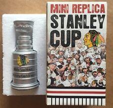 Chicago Blackhawks 2010 Mini Stanley Cup Champions Sga Cellular Field Mib Box
