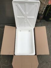 Boite transport + CARTON caisse isotherme 40x27x13 polystyrène thermobox c 33