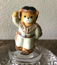 Lucy & Me Thanksgiving Native American Indian Bear 1991, Lucy Rigg For Enesco