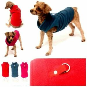 Puppy Dog Warm Fleece Vest Clothes Pet Winter Shirt Coat Jacket Comfort Sweater