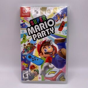 Super Mario Party Nintendo Switch NEW Factory Sealed