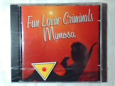 FUN LOVIN' CRIMINALS Mimosa cd ECHO & THE BUNNYMEN SIGILLATO SEALED!!!