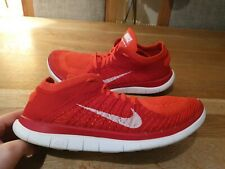 NIKE FREE FLYKNIT 4.0 RUNNING TRAINERS MENS SIZE UK8.5 EUR43 GENUINE
