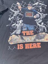 John Cena WWE T-shirt The Champ is Here Hustle Loyalty Respect L Vintage