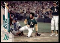 2020 Topps Series 2 Base Variation SP #560 Reggie Jackson - Oakland Athletics