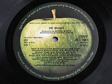 THE BEATLES WHITE ALBUM 1968 UK  Original *STEREO* British Invasion (2) LP Set .