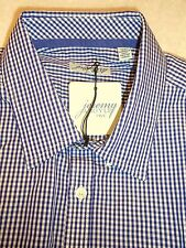 Jeremy Argyle of NYC Long Sleeve Purple Gingham Check Sport Shirt NWT XL $148